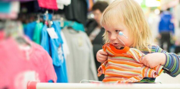 Psichologė: ar mažiems vaikams yra svarbu, kaip juos rengia