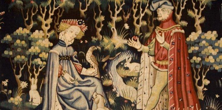 Asociatyvinė nuotrauka: istorinio paveikslo dalis