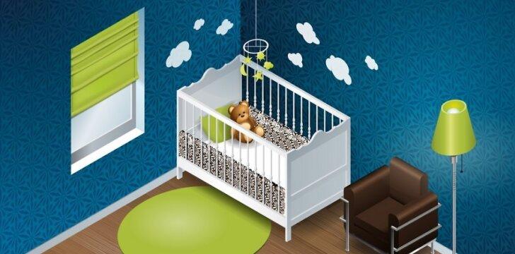 Lovytėje kūdikis krykštaus greičiau, jei nesikrimsite, kad jo vis dar neturite.