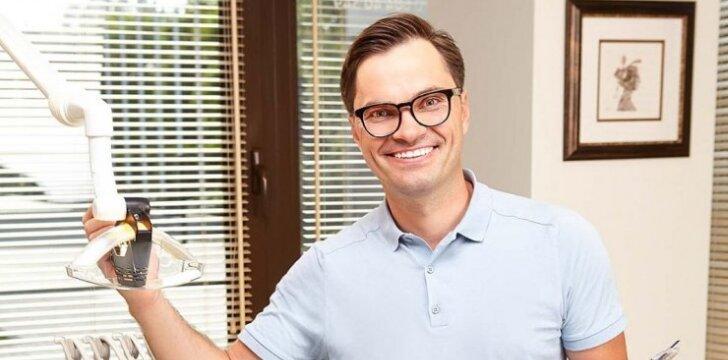 Odontologas J. Travkin: savo pacientams siūlome tai, kas šiandien yra unikalu ir progresyvu