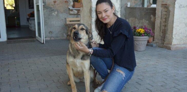 Logistikos studentė visą meilę atiduoda beglobiams gyvūnams