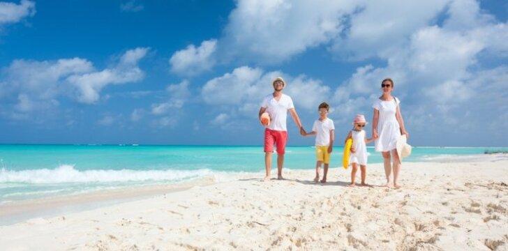Praktiški patarimai, kaip atostogaujant su vaikais nepavargti