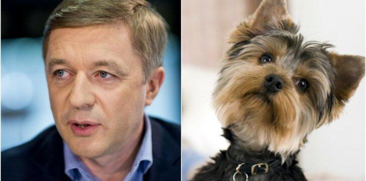 Karbauskis ir šuo