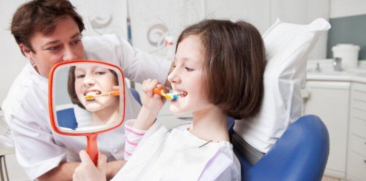 Kada nereikia mokėti už vaikų dantų gydymą?