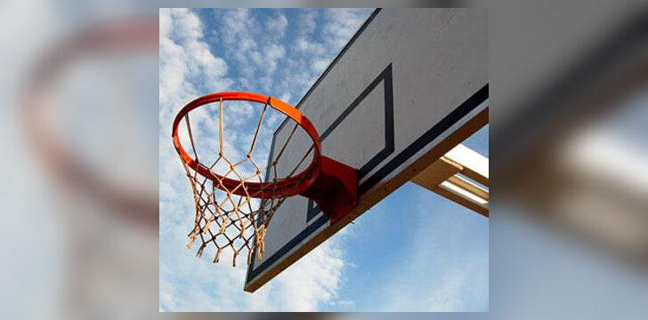Krepšinis, krepšinio lenta, krepšinio lankas
