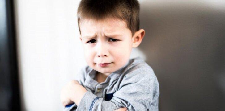 Supykau ant vaiko ir pakėliau balsą: psichologo komentaras
