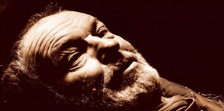 80-metį švenčiantis aktorius R. Adomaitis: tik su metais atėjo suvokimas, kad ne teatras gyvenime svarbiausia