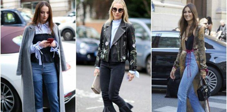 6 madingiausi pavasario džinsų modeliai