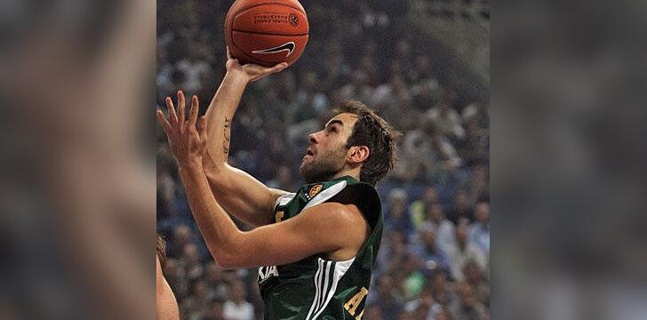 """Vassilis Spanoulis (""""Panathinaikos"""")"""