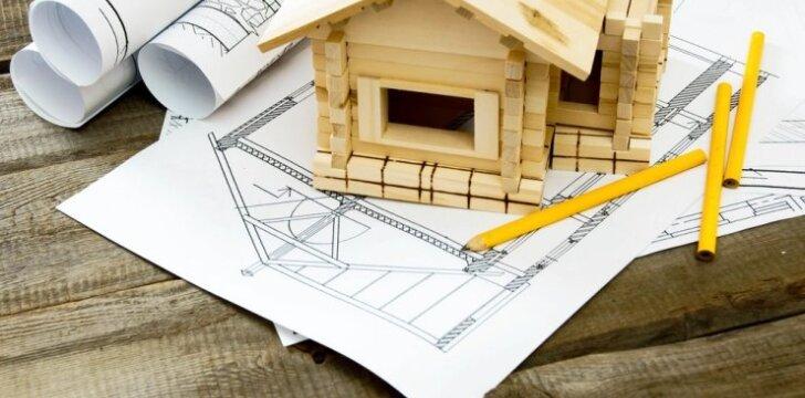 Griežtėja nedidelių namų statybos kaime reikalavimai