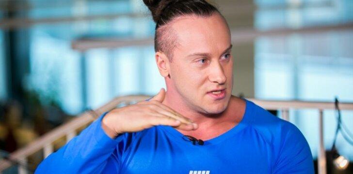 DELFI TV konferencijoje – Europos kultūrizmo čempionas Andrius Pauliukevičius