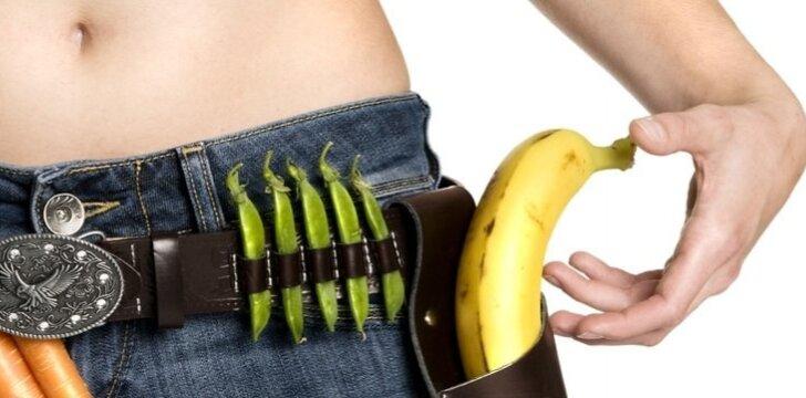Valgydamos daržoves ir vaisius, negausite visų organizmui reikalingų medžiagų. Tai pakenks sveikatai.