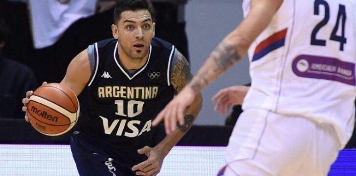 Carlosas Delfino (CAAB nuotr.)