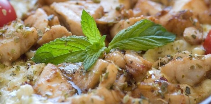 Itališkas vištienos troškinys