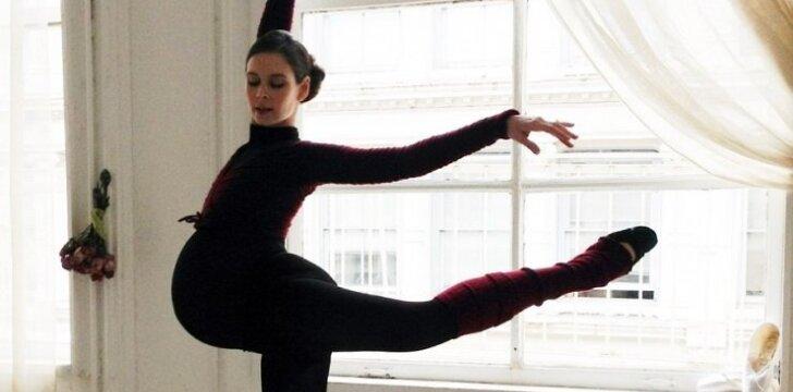 nėštumas, balerina,
