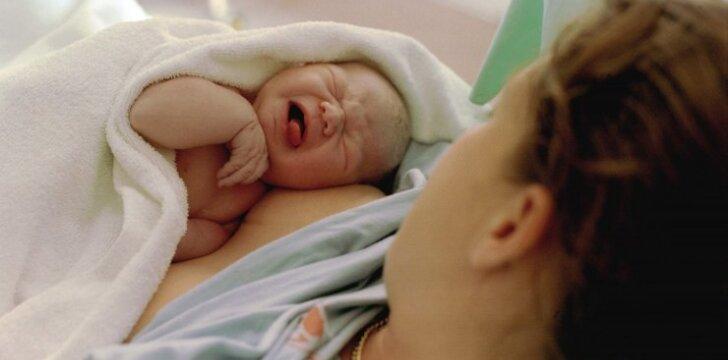 Neeilinis įvykis gimdykloje: visi liko apstulbę