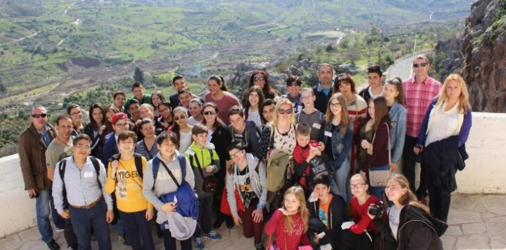 Prezidento Valdo Adamkaus gimnazijos mokiniai ir mokytojai vyko į Kiprą