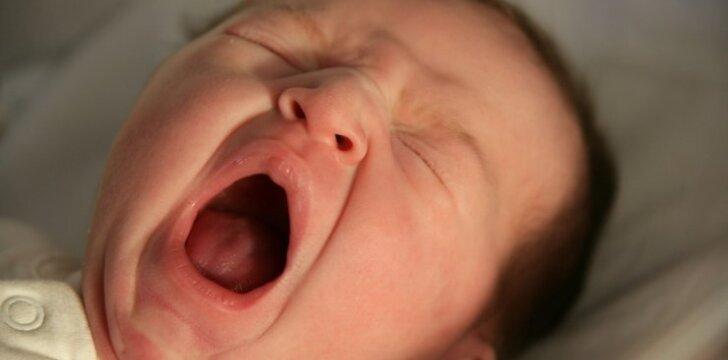 Problema, kuri suėda daugiausia nervų jauniems tėvams
