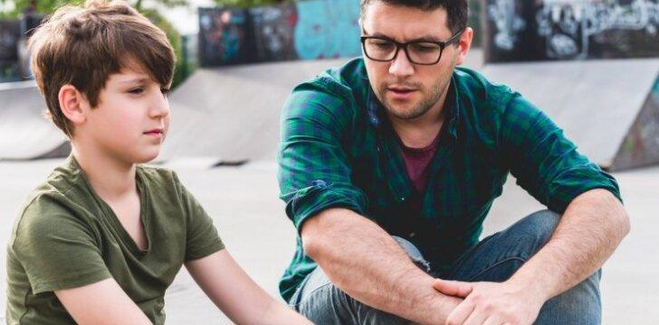 Kodėl reikia nebijoti drausminti vaikų