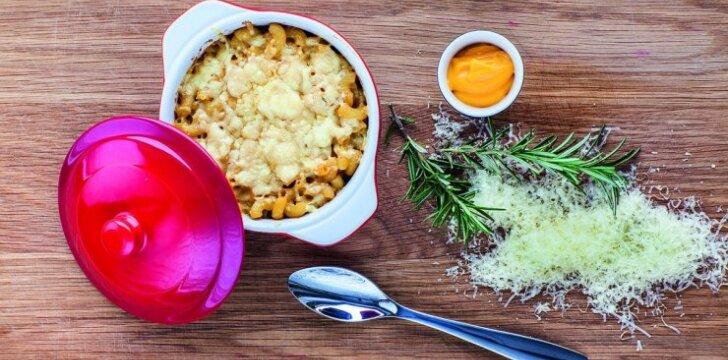 Klasikiniai makaronai su sūriu