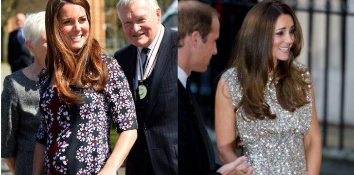 """Kate Middleton stilius: jį kopijuoja nėščios ir ne tik <sup style=""""color: #ff0000;"""">FOTO</sup>"""