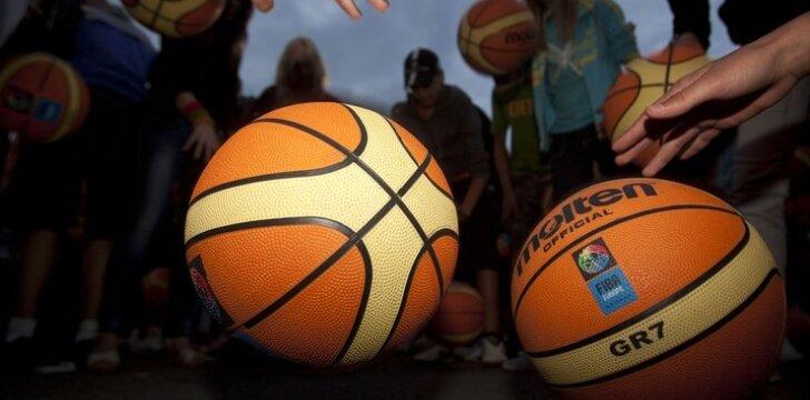 """Vaikų krepšinio turnyras """"Kai mūsų širdys plaka išvien"""""""