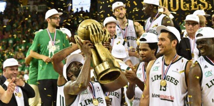 Limožo krepšininkai triumfavo Prancūzijos pirmenybėse