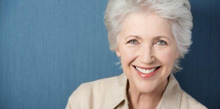 Šis natūralus brandaus amžiaus moterų pokytis – grožio tendencija
