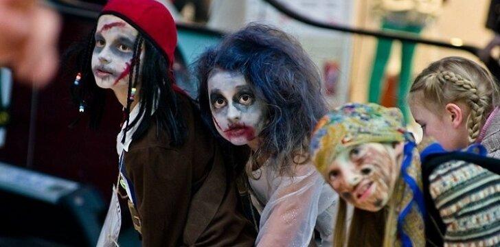 """Heloviną Lietuvoje kasmet švenčia vis daugiau vaikų <span style=""""color: #ff0000;""""><sup>FOTO</sup></span>"""