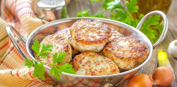 Žuvų ir bulvių kotletai