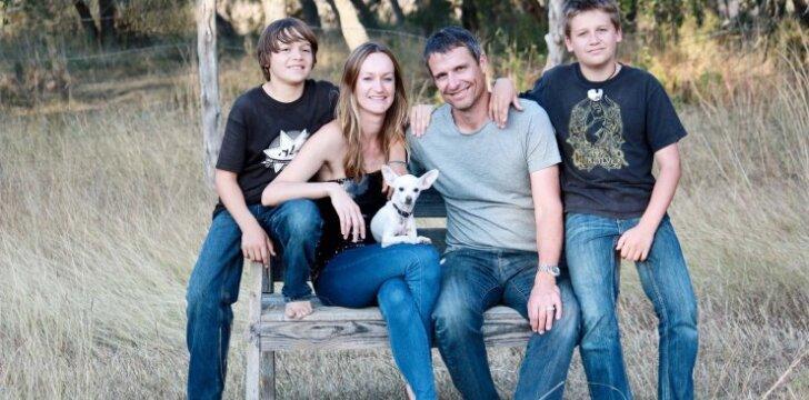 Šeima, kuri per metus pripildo vos vieną stiklainį šiukšlių