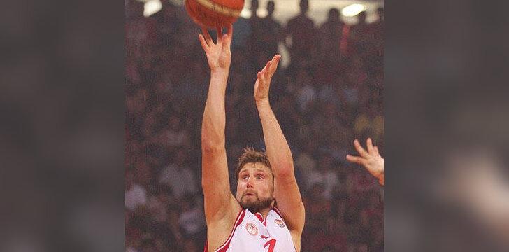 """Arvydas Macijauskas (""""Olympiakos"""")"""
