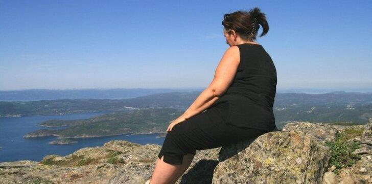 Nutukimas ir depresija skatina vienas kitą