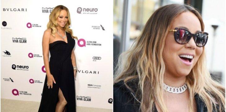 Mariah Carey neištvėrė savo drastiškos dietos - svoris grįžo su kaupu