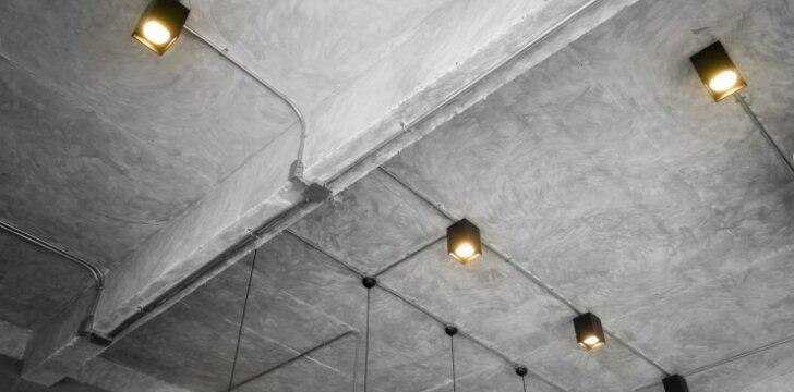 Neuždengta lubų konstrukcija: privalumai bei trūkumai