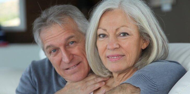 Garbus amžius - ne riba mėgautis intymiu gyvenimu.