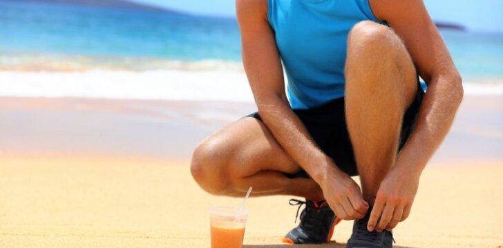 Maistas sportuojantiems: ką valgyti prieš ir po sporto