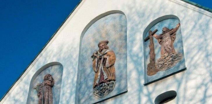 Šv. Kazimiero bažnyčioje galima pamatyti Danieliaus Schultzo tapytą Lietuvos patrono šv. Kazimiero paveikslą