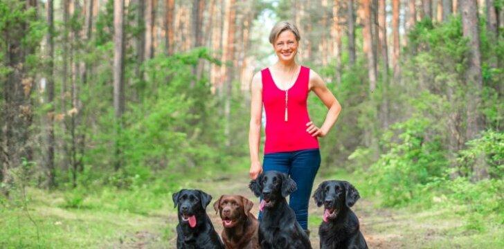 Retriverių augintoja: šunį reikia įsigyti ne vaikams, o dėl vaikų