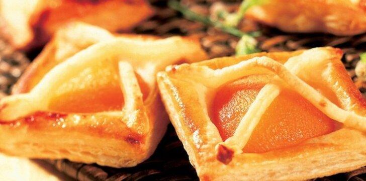 Abrikosų pyragėliai
