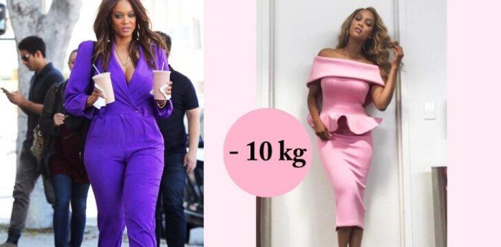 Tyra Banks atrodo stulbinančiai! Atsikratė 10 kg