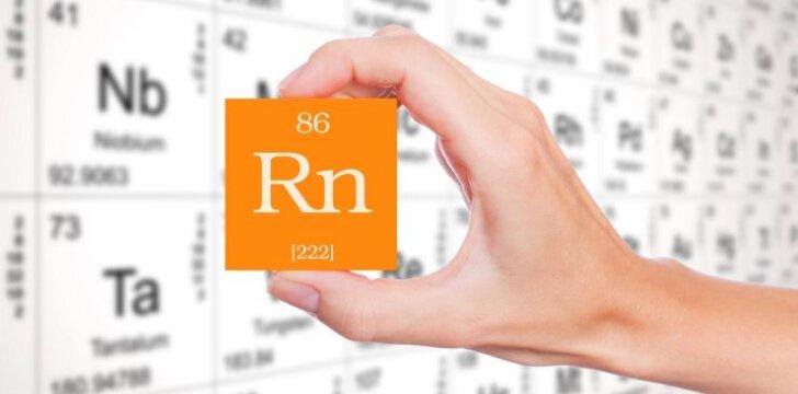 Radono dujos: reali grėsmė iš grunto, oro bei statybinių medžiagų