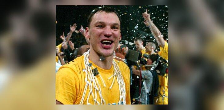 Šarūnas Jasikevičius - triskart Eurolygos čempionas