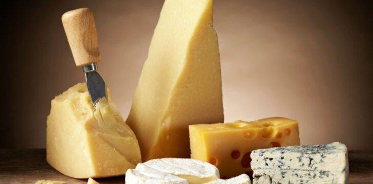 Sūris - ir maistui gardinti, ir sveikatai stiprinti
