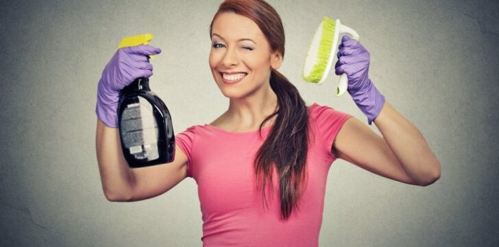 9 klaidos, kurias darome valydami namus