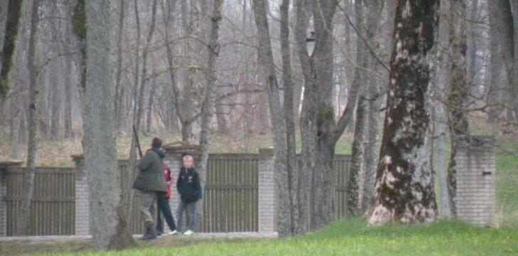 Kovų medžioklė Plungėje dalyvaujant vaikams