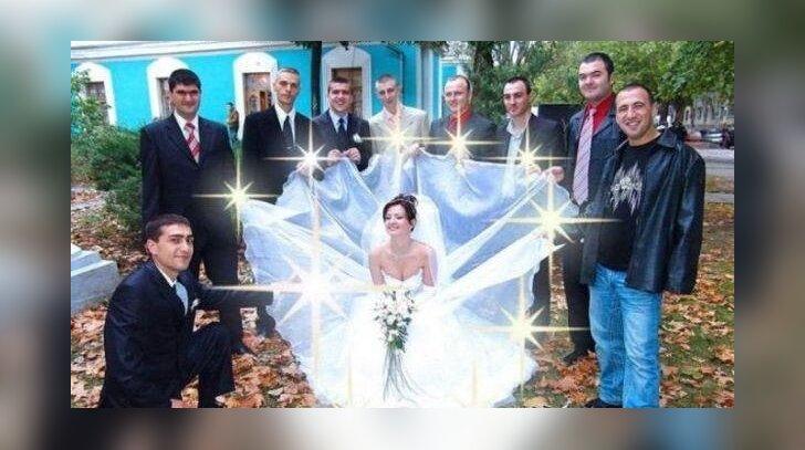 Kadrai iš vestuvių Rusijoje: ar begali būti blogiau?