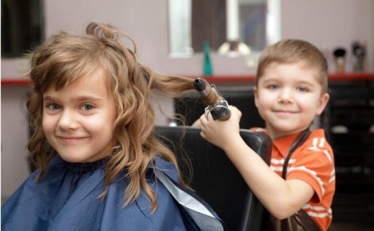 Школа парикмахеров мастер класс сделай сам #4