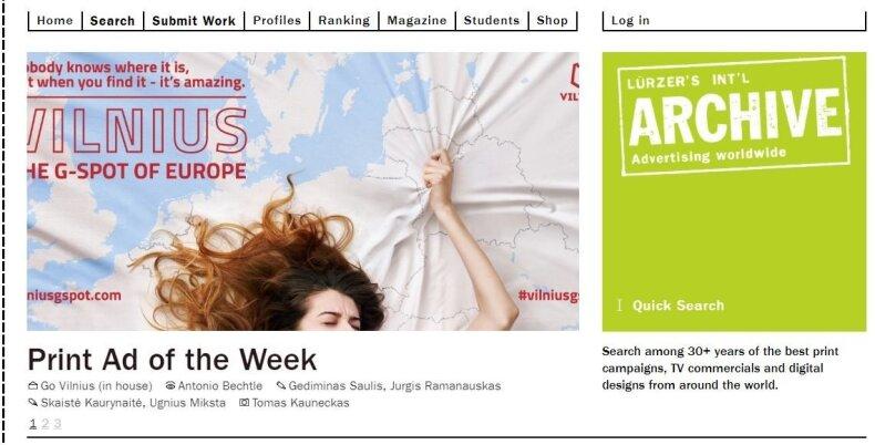 Vilnius G Spot reklama