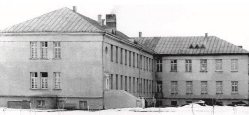 Senasis Švėkšnos ligoninės pastatas